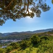 Albunuelas Village, Granada Province, Andalusia, Spain